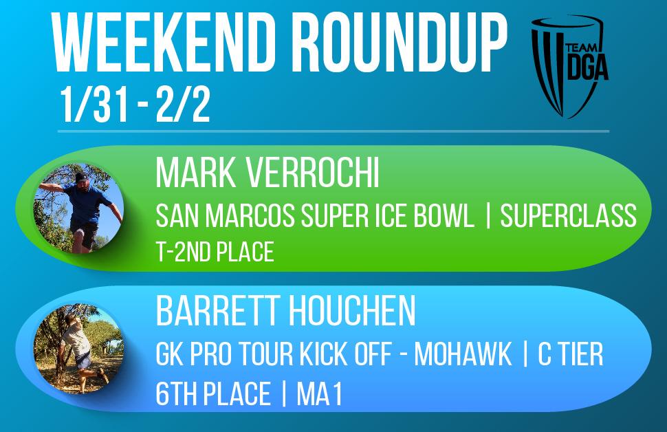 Team DGA Weekend Roundup