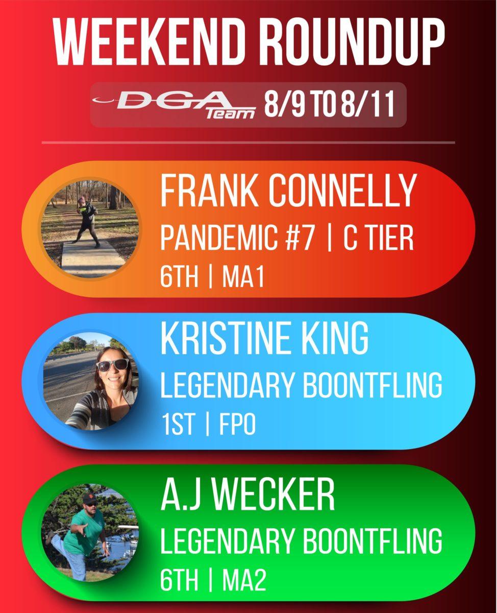 Team DGA Weekend Round 8/9 - 8/11