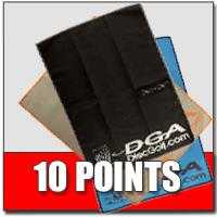 Tournament Sponsorship Cash Back Rewards-10-points-disc-dri-towels