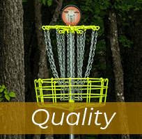 Quality DGA Disc Golf Baskets