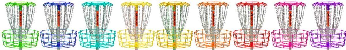 Color Powder Coated Basket Line up-