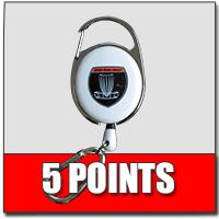 Tournament Sponsorship Cash Back Rewards-5-points-lanyards