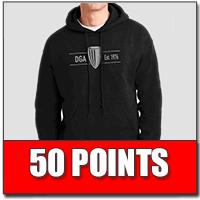 Tournament Sponsorship Cash Back Rewards-50-points-hoodie