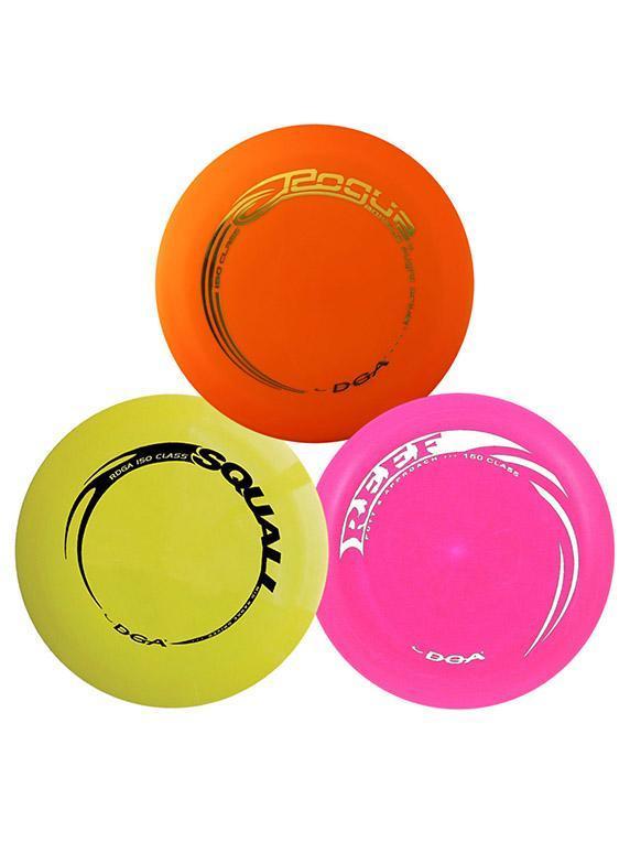 DGA Disc Golf Set - Beginner 3 Pack