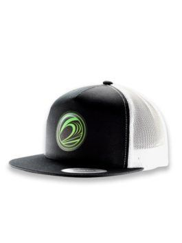 Icon Mesh Snapback Flat Bill Cap