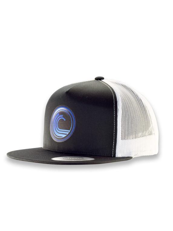 3b60b5884a8 Icon Mesh Snapback Flat Bill Cap » DGA