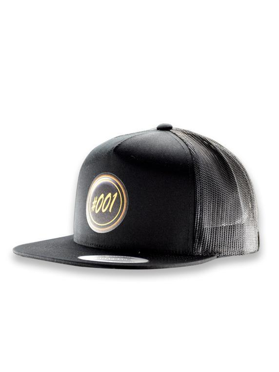 Icon Mesh Snapback Flat Bill Cap