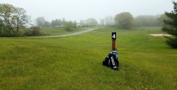 More Course Collecting in the Rain in Wisconsin - Tonn's Travels