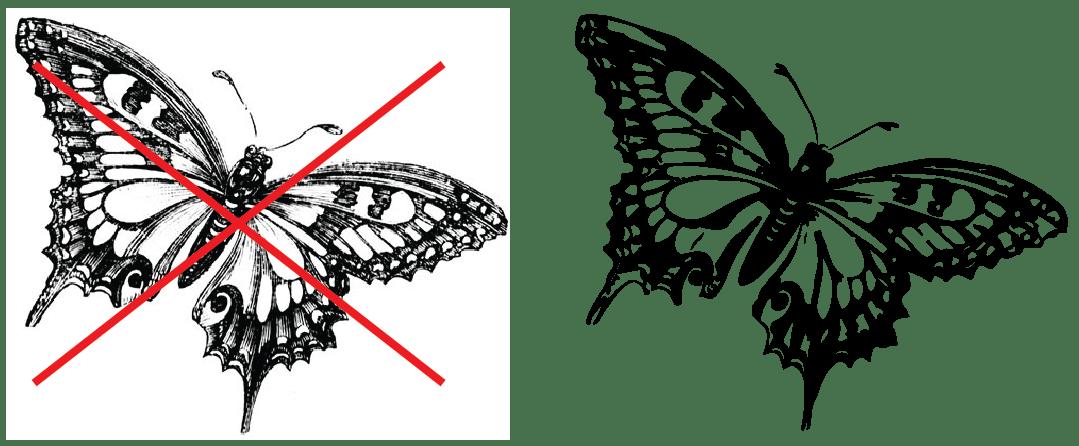 Custom Hot Stamp Art Guidelines