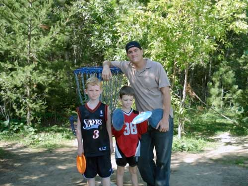 Disc Golf is a Healthy Activity to get kids involved in