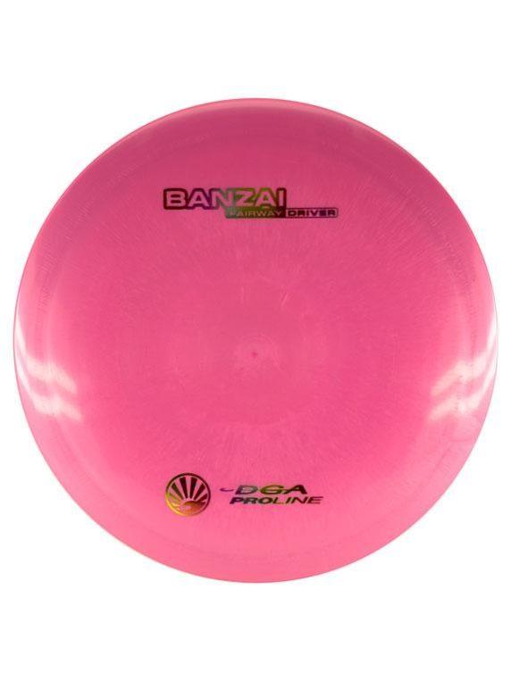 DGA Banzai Fairway Driver Proline Pink Disc