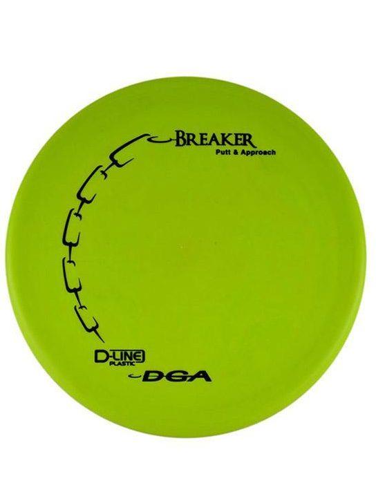 DGA Breaker Putt and Approach D Line Green Disc