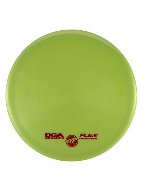 DGA Breaker Putt and Approach Flex Light Green Disc