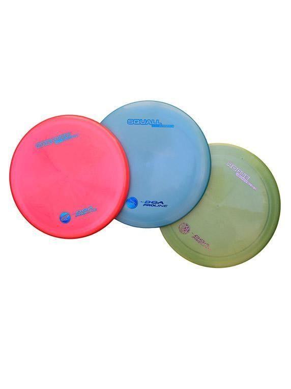 DGA Disc Golf Set - Pro 3 Pack