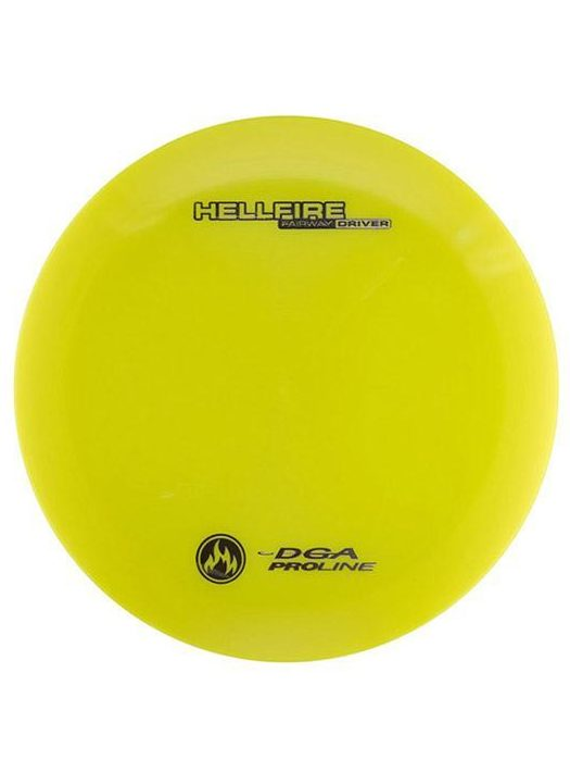 DGA Hellfire Fairway Driver Proline Yellow Disc