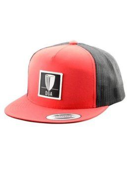 Patch Mesh Snapback Flat Bill Cap