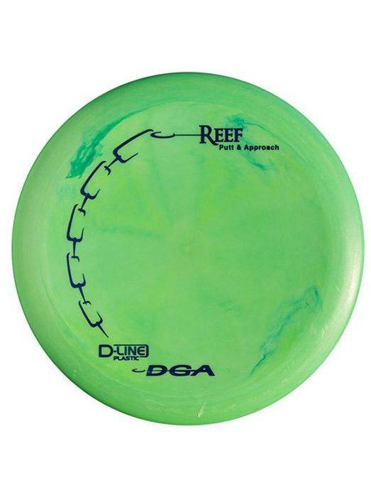 DGA Reef Putt and Approach D Line Green Disc