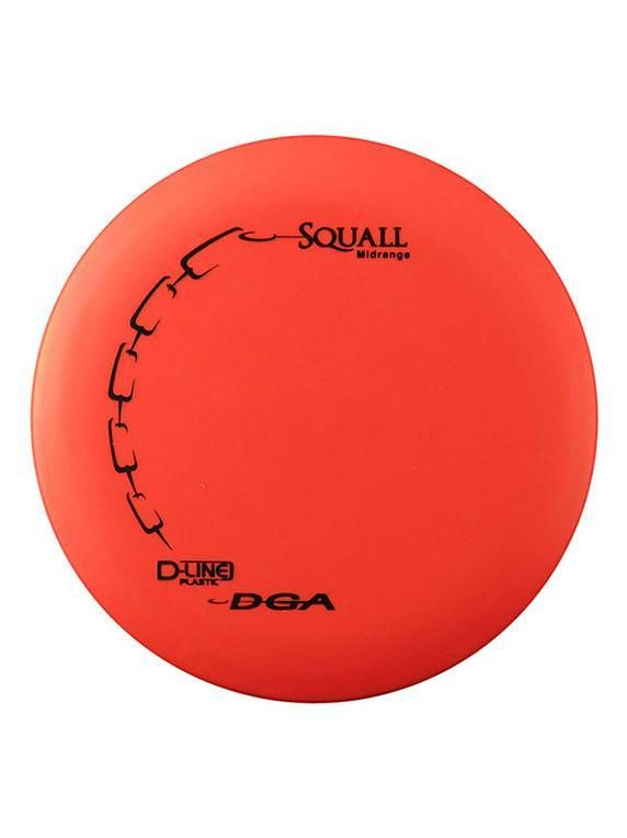 DGA Squall Midrange D Line Red Disc