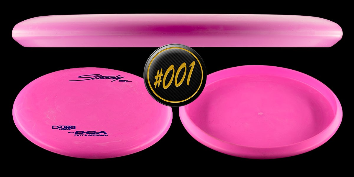 DGA Steady BL Putt and Approach D-Line Disc Hero.Image