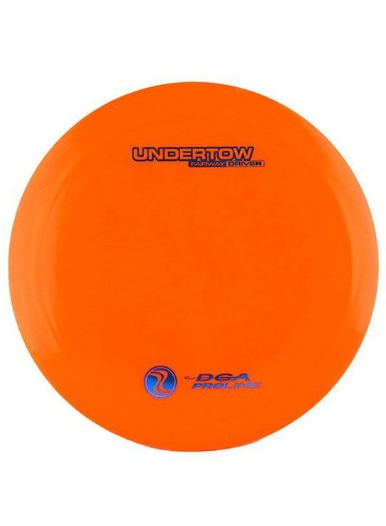 DGA Undertow Fairway Driver Proline Orange Disc