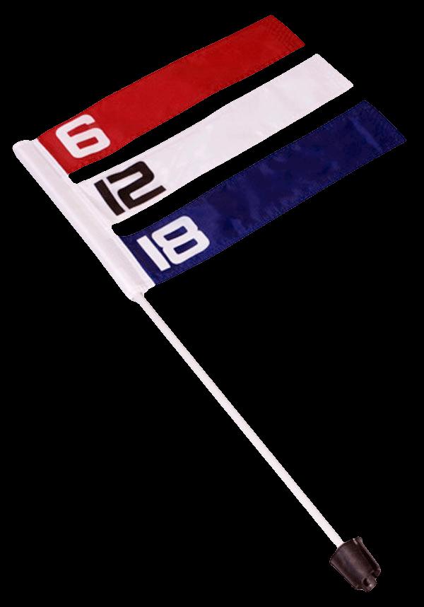 Direct Hit Disc Golf Wind Flag - 6, 10,18 mph