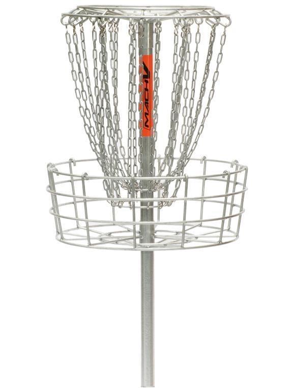 Mach 5 Permanent Basket Disc Golf Target