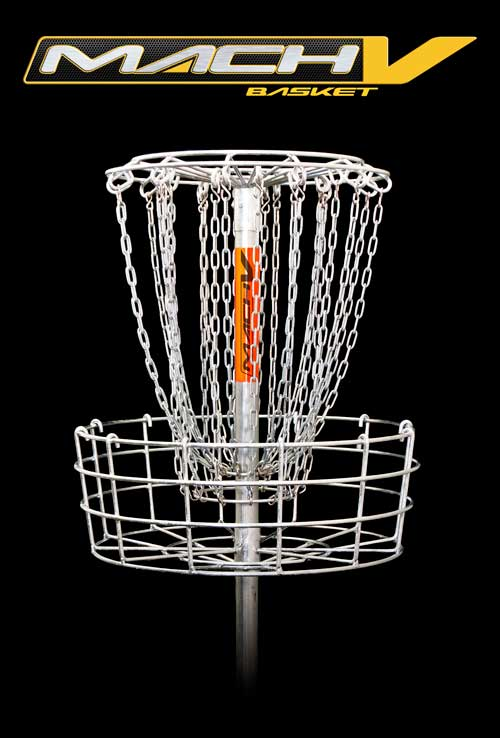 Mach 5 Permanent Disc Golf Basket