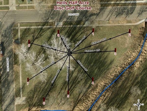 Hells Half-Acre DGC - Tonn's Travels