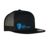 Mesh Snapback Curved Bill  Cap