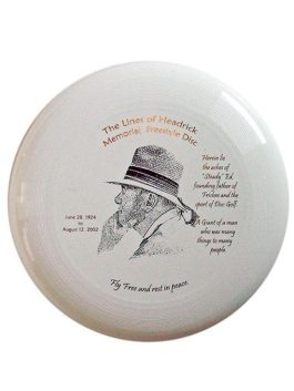 """Lines of Headrick Memorial Freestyle Disc"""